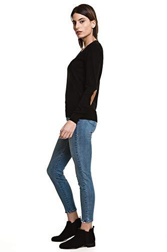 Pantaloni Blu Pantaloni Javier Larrainzar Larrainzar Javier Blu Donna Donna 614qE