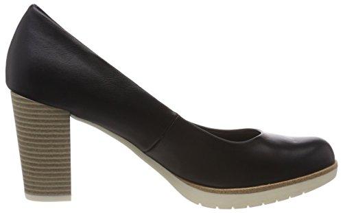 à Noir 22435 Tozzi Black femme talons Chaussures Marco pieds Antic Avant du couvert FTt1w6xqaZ