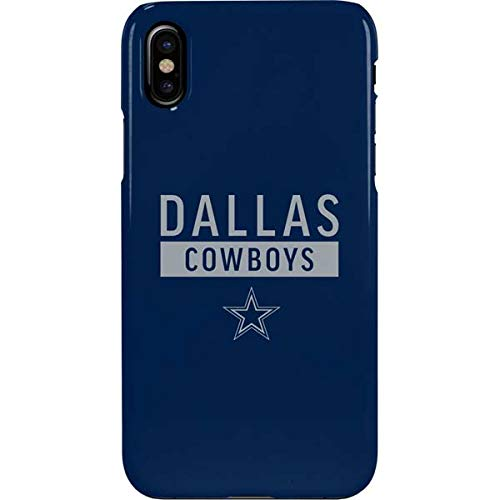 on sale bbb3a d6a76 Amazon.com: Dallas Cowboys iPhone Xs Max Case - NFL | Skinit Lite ...