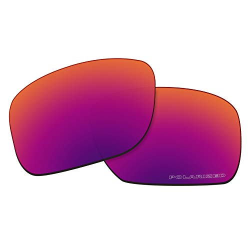 OOWLIT Replacement Lenses Compatible with Oakley Holbrook Sunglass Purple Red Combine8 Polarized (Holbrook Red Iridium)