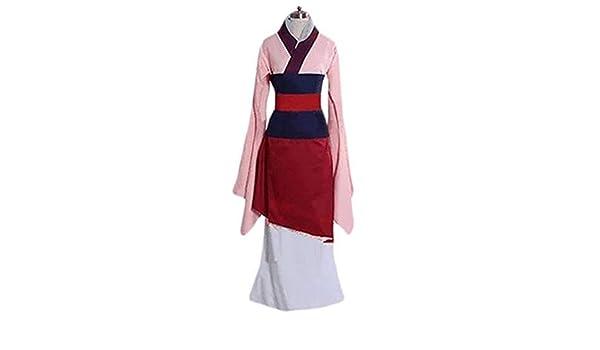Shisky Hua Mulan Halloween Disfraz Flor Magnolia Cosplay Anime ...