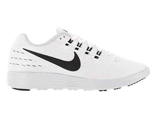 Nike Womens Lunartempo 2 Scarpa Da Corsa Bianco / Nero Puro Platino