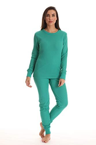 Just Love Women's Thermal Underwear Set 95862-TAL-M Teal