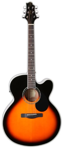 Samick Music Corp G Series 100GJ100SCE Jumbo Acoustic Electric Guitar, Vintage Sunburst -  Samick Music Corp.