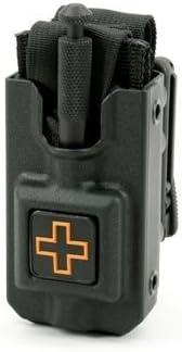 Eleven 10 Blade-Tech TekLok Tourniquet Case Belt Clip LG Black E10-BTTL