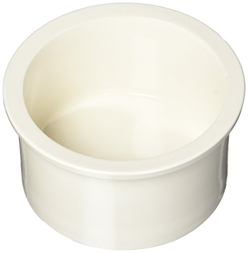 Prevue Pet Products Ceramic 4 Bowl Replacement Cup Set, Bone White