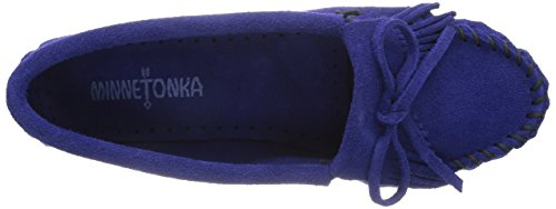 100% guaranteed cheap online Minnetonka Women's Kilty Suede Moccasin Blue Violet cheap 2014 newest fashionable for sale authentic sale online Q9fNi