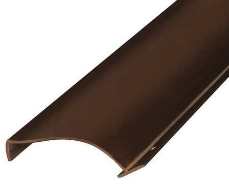 National Guard 2252B NGP Side Door Hinge Edge Finger Guard, 80'', Brown by National Guard