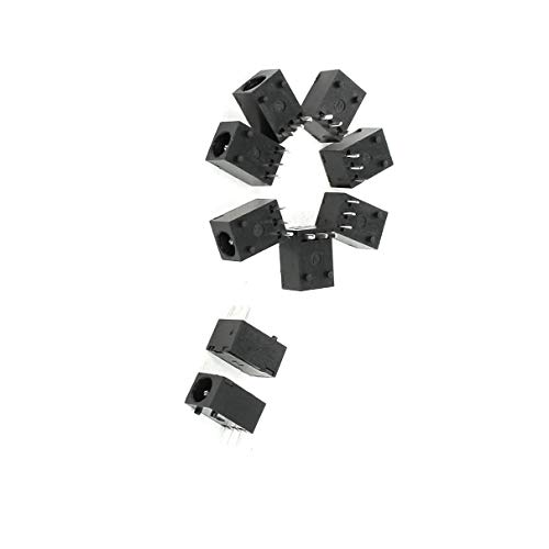 - Aexit 3.5mm DC PDA & Handheld Accessories Power Jacks Sockets PCB Mounting Replacement Accessory Kits 9 Pcs