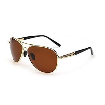 TL-Sunglasses Gafas de Sol polarizadas Guía piloto Hombres Polaroid Gafas de Sol Hombre,polarizado JF5111 C5: Amazon.es: Deportes y aire libre