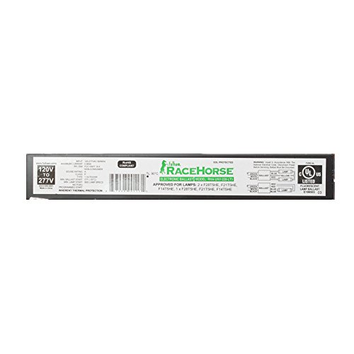 Fulham Lighting RHA-UNV-228-LT5 Racehorse A-Linear Model for 1 or 2 x F14 F21 or F28 T5HE (High Efficiency) -w/Leads Electronic Ballast