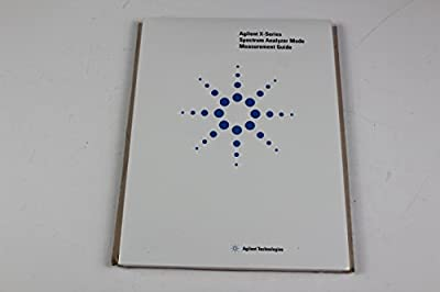 Agilent N9060-90034 X-Series Spectrum Analyzer Mode Measurement Guide