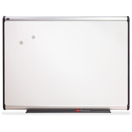 Quartet Prestige Plus Magnetic Total Erase Porcelain Boards, 4 x 3 Feet, Aluminum Frame (P554A) (Porcelain Erase Total)