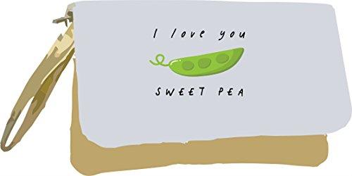 You Vegetable Love Sweet Metallic Gold I Pun Clutch and Bag Jokes Pea Fruit Gold EYqgw5d5x