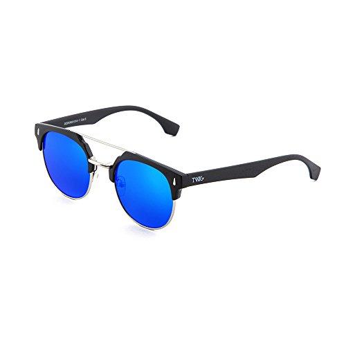 degradadas Azul DURER Gafas sol hombre espejo de TWIG mujer Negro wSqXzq4v