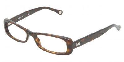 DOLCE&GABBANA D&G Eyeglasses DD 1199 HAVANA 502 - Eye Glasses D&g