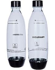SodaStream 1 Litrowe Butelki Fuse, Białe Dwupak