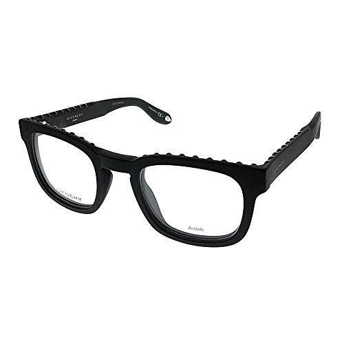 Givenchy GV 0006 0QHC Matte Black Plastic Square Eyeglasses 49mm