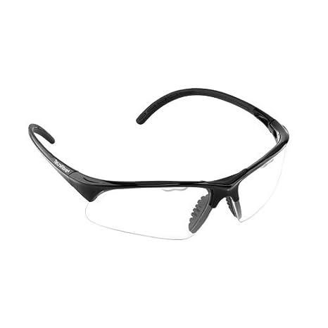 73c8585338 Amazon.com   Tecnifibre Absolute Squash Eyewear Black   Sports ...