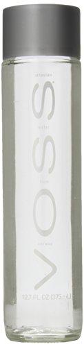 Voss Artesian Still Water, 375 ml 12.7 oz Glass