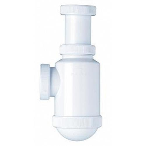 Crearplast c-2 - Sifon botella salida horizontal 1.1/2 diá metro 40 racor
