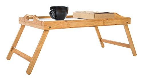 Trademark Innovations Bamboo Folding Handles