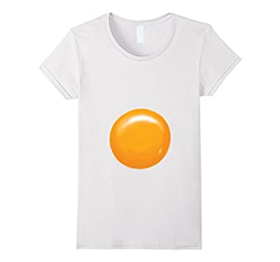 Fried Egg Halloween Costume Shirt - Egg Yolk