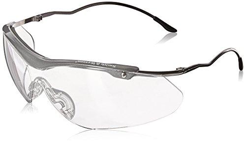 Smith & Wesson 138-20350 Sigma Safety Eyewar, Polycarbonate Anti-Scratch Lenses, Gunmetal Metal Frame, One Size, - Eyewar