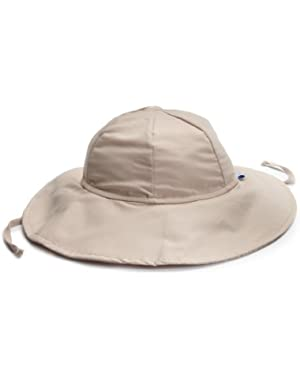 Baby Unisex Solid Brim Sun Protection Hat UPF 50+ by i play.