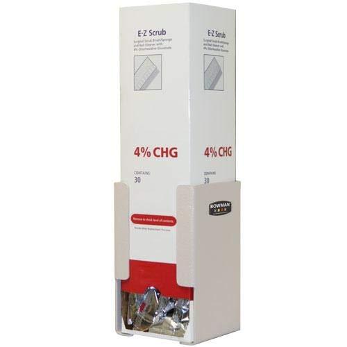 Bowman Dispensers CL007-0212, Scrub Brush Dispenser, Keyholes, Pack of 3 pcs