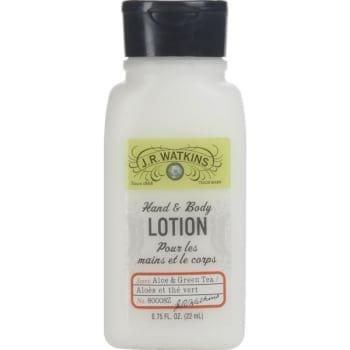 J. R. Watkins Hand & Body Lotion Aloe & Green Tea 0.75oz Set