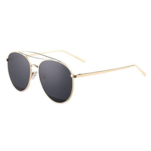 008c760e81 Amazing Gafas de sol de calle Ronda de verano Gafas de pareja ( Color : D
