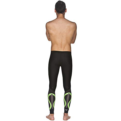Arena Powerskin Carbon Compression Long Tights, Black/Deep Grey, X-Small by Arena (Image #4)