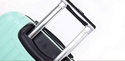 GaoMiTA Trolley case Ultra Light Trolley case Zipper ABS Mute Wheel Fashion Cute Travel Business Trip
