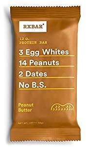 RxBar Real Food Protein Bars Variety Pack, 8 Flavors, 16 Count