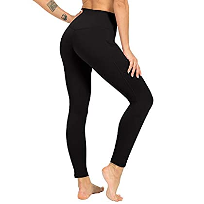 ZIIIIIZ High Waist Yoga Pants for Women Tummy Control Workout Athletic Compression Leggings with Pockets for Women 31MtwUVBsmL