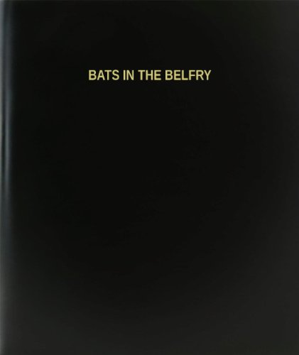 BookFactory Bats In The Belfry Log Book / Journal / Logbook - 120 Page, 8.5