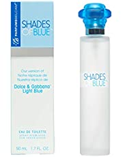 Shades of Blue for Women, our Version of Dolce and Gabbana Light Blue, EDT, 50 mL