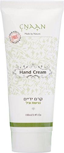Shea Butter & Aloe Vera Dry Hand Cream - anti-aging Nails Cream by CNAAN - VANILLA TOUCH Moisturizing Dry, Cracked Skin - Argan Oil Skin Repair Cream for Sensitive Skin - Paraben & SLS Free