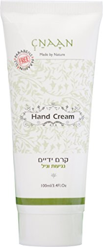 Shea Butter & Aloe Vera Hand Cream - anti-aging Nails Cream by CNAAN - VANILLA TOUCH Moisturizing Dry, Cracked Skin - Argan Oil Skin Repair Cream for Sensitive Skin - Paraben & SLS Free (Nail Anti Aging)