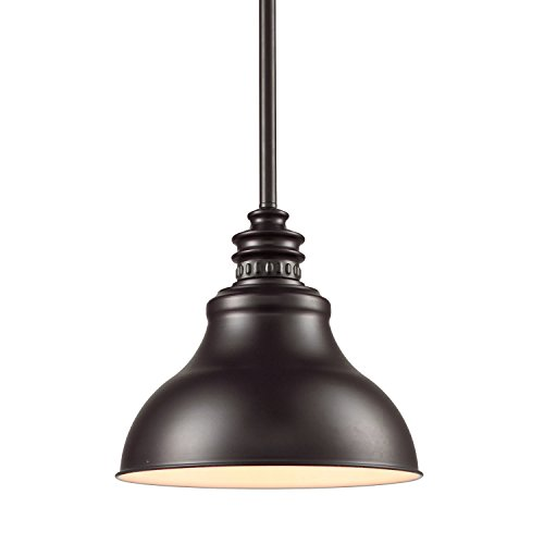 YOBO Lighting fixture Vintage Oil Rubbed Bronze Barn Hanging Kitchen Pendant Chandelier (Kitchen Lighting Fixtures Hanging)