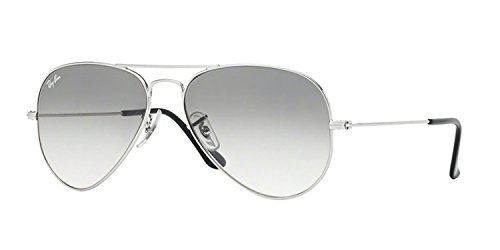 Ray-Ban RB3025 Aviator Metal Sunglasses: