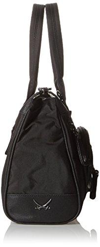 Sansibar Sansibar - Bolso con asas Mujer negro (black 001)