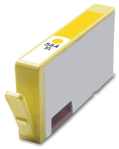 HouseOfToners Remanufactured Ink Cartridge Replacement for HP 564XL CN687WN (1 Yellow)