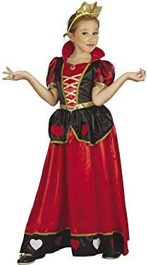 DISONIL Disfraz Reina de Corazones Niña Talla S: Amazon.es ...