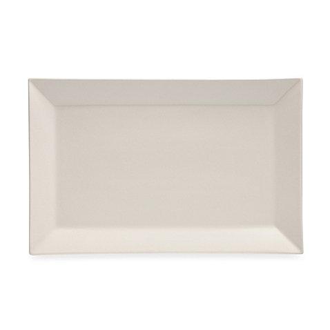 Serving Platter Simple Lines Enhance Casual Meals Rectangular (Black Melamine Fish Platter)