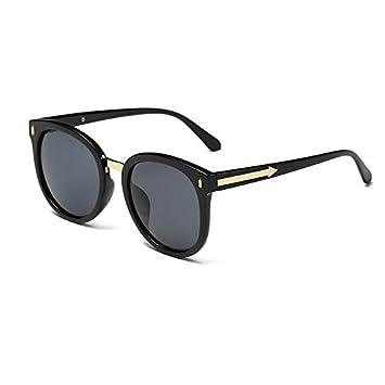 Aoligei Retro-Sonnenbrille ARROW Sonnenbrille Frauen Stil große Kiste helle Farbe Gläser ZUkIaZ