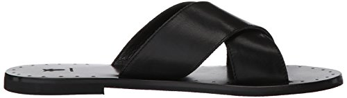 Black Frye Ally Slide Sandal Criss Cross Women's wpwqTf4
