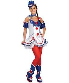 Rodeo Clown Costume - Standard - Dress Size (Rodeo Clown Costumes)