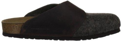 Birkenstock Basel 112103 - Zapatillas de casa de fieltro unisex Marrón (CACAO/HABANA)